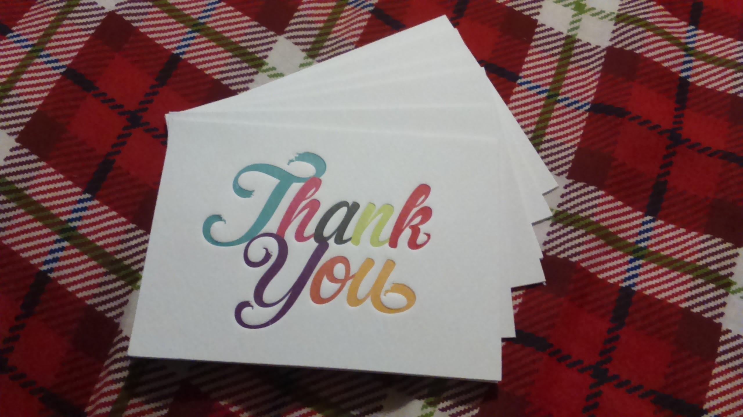 The lost art of saying thank you