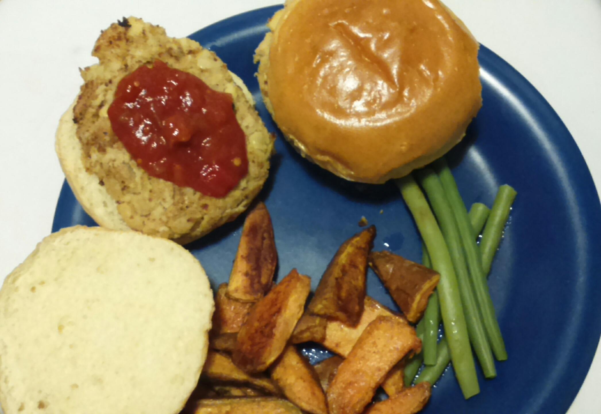 Recipe: Falafel Burgers